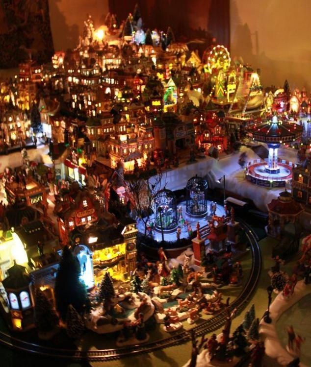 Miniature Christmas Village Displays Christmas Lights Christmas Light Displays Listed Christmas Village Display Christmas Light Displays Christmas Villages
