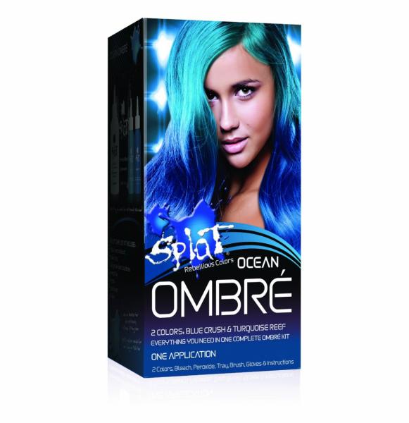 Splat Rebellious Colors Hair Coloring Complete Kit Ocean Ombre 1 Ea In 2020 Semi Permanent Hair Dye Permanent Hair Dye Permanent Blue Hair Dye