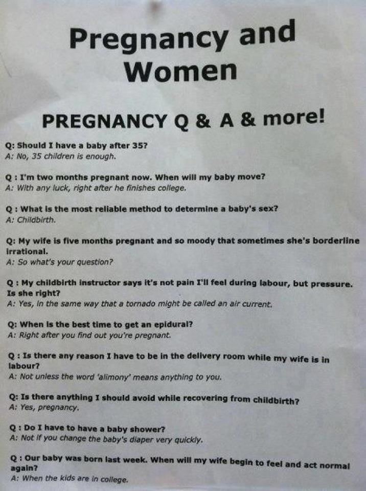Pregnancy Q
