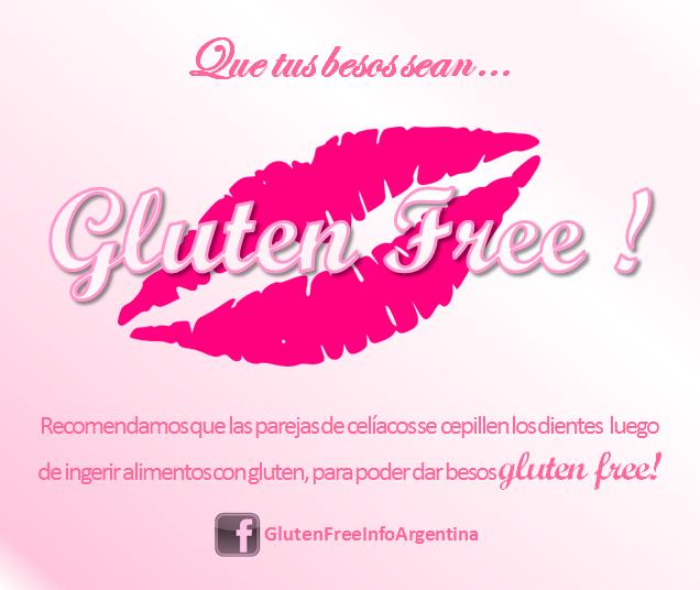 A la hora del amor, que también sea Gluten Free.