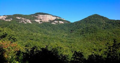 The Hike To Summit Of Table Rock Mountain State Park SC