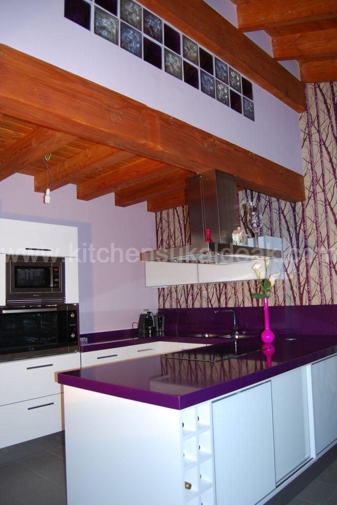 Pin de kitchen sukaldeak en proyecto de loli y julio fabrica de cocinas decoraci n de cocina - Kitchen sukaldeak ...