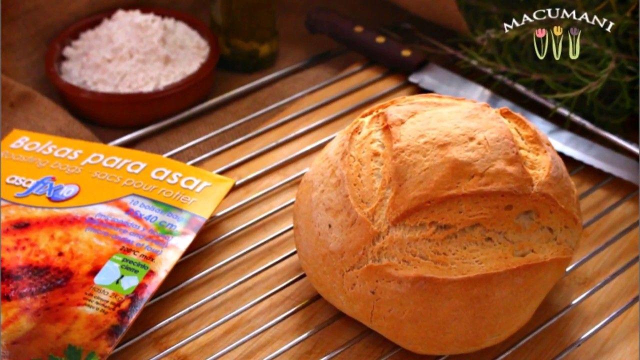 Pan En Bolsa De Asar En Solo 40 Minutos Pan Casero Pan Casero Receta Pan Con Chips De Chocolate