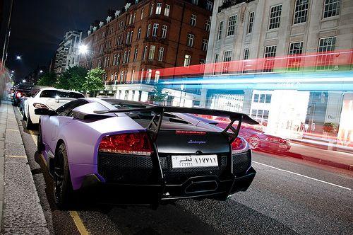 Sloane Street Super Cars Lamborghini Automotive Photography