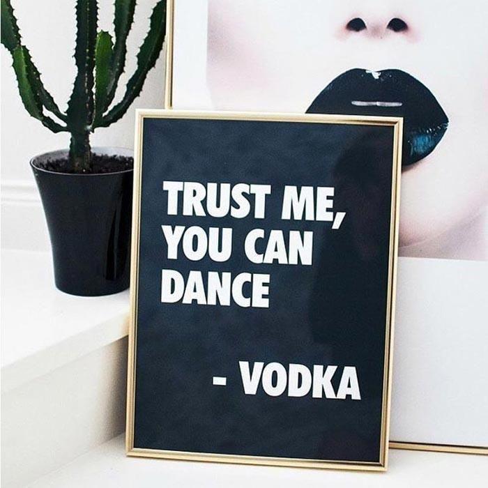 aannis You Can Dance Poster - 30x40 cm - 12x16 in Noir Poster ...