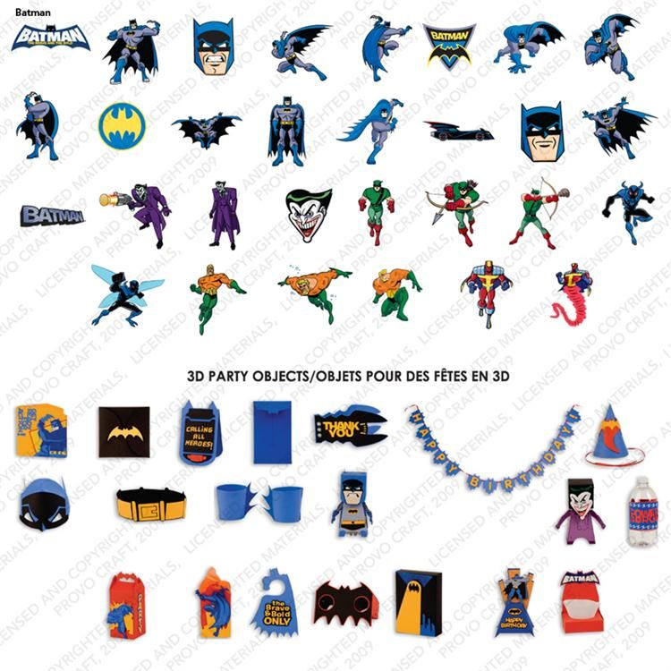 Batman The Brave And The Bold Cricut Cartridge With Images
