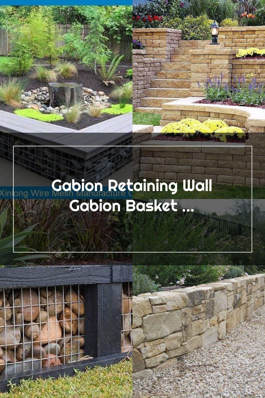 Gabion retaining wall gabion basket in 2020 gabion