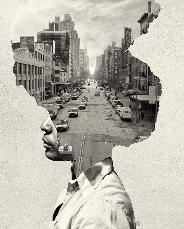 Podmanivá séria fotografií s názvom Kde je moja myseľ
