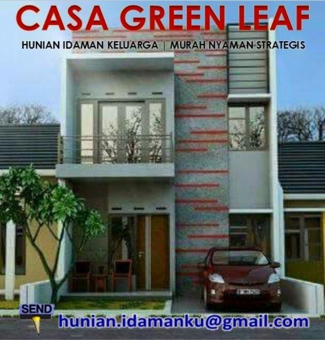 Home Design Type 70 Part - 34: Dijual Rumah Idaman Casa Green Leaf Pondok Cabe | Murah Nyaman Strategis  Casa Green Leaf Pondok