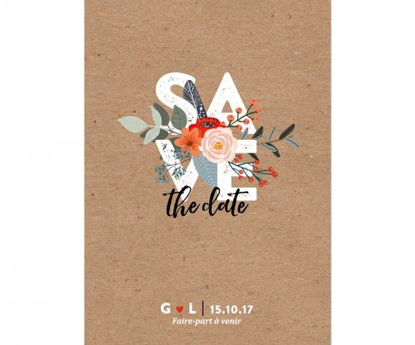 Wedding Invitations / Save-the-date