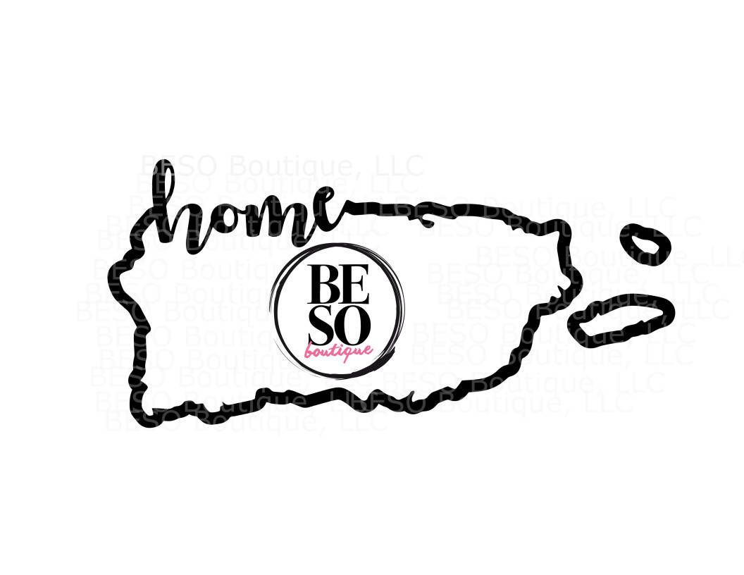 Puerto Rico Home Island Svg Dxf Png More For Cricut And Silhouette Machines Bonus By Besobout Silhouette Cameo Projects Cricut Free Silhouette Machine