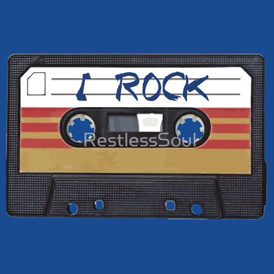 I Rock and Roll - Cassette Tape Music by RestlessSoul