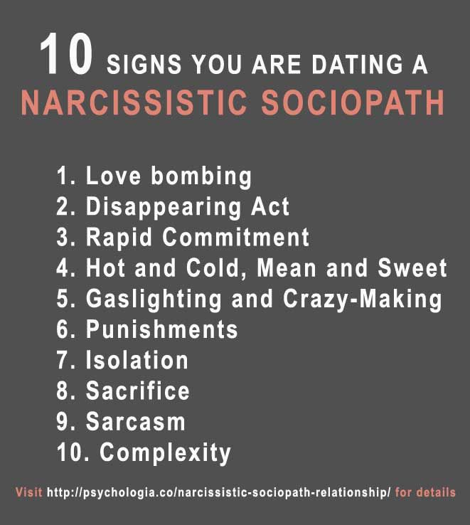 quotes about dating a sociopath