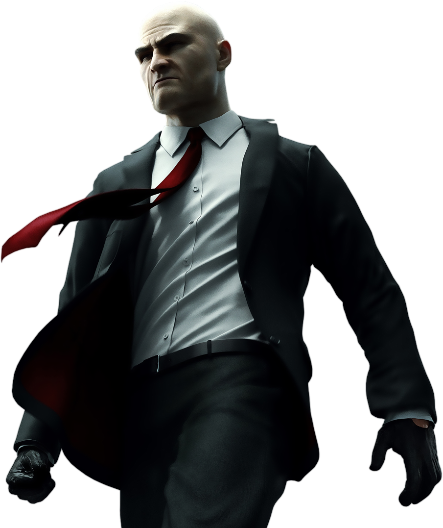 Agent 47 From The Hitman Video Game Series Hitman Agent 47