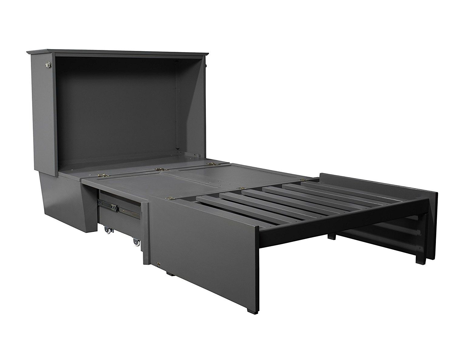 Best Amazon Com Atlantic Furniture Ac602149 Madison Murphy Bed 400 x 300