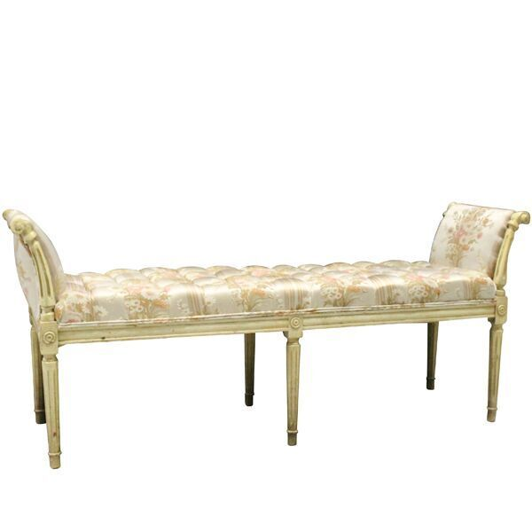 Groovy Kate Floral Bench French Style Window Bench With Silk Bralicious Painted Fabric Chair Ideas Braliciousco