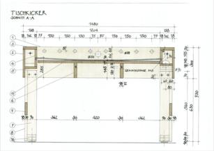 Tischkicker Bauplan Querschnitt In 2019 Kicker Tisch