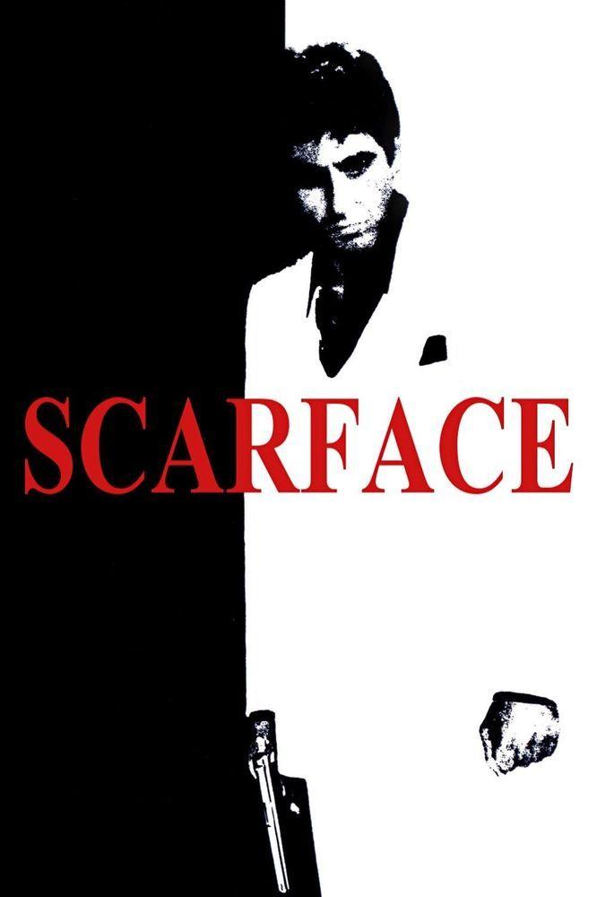 Al Pacino Scarface Movie Art Print Poster 36x24inch Decor 12 Scarface Movie Scarface Al Pacino