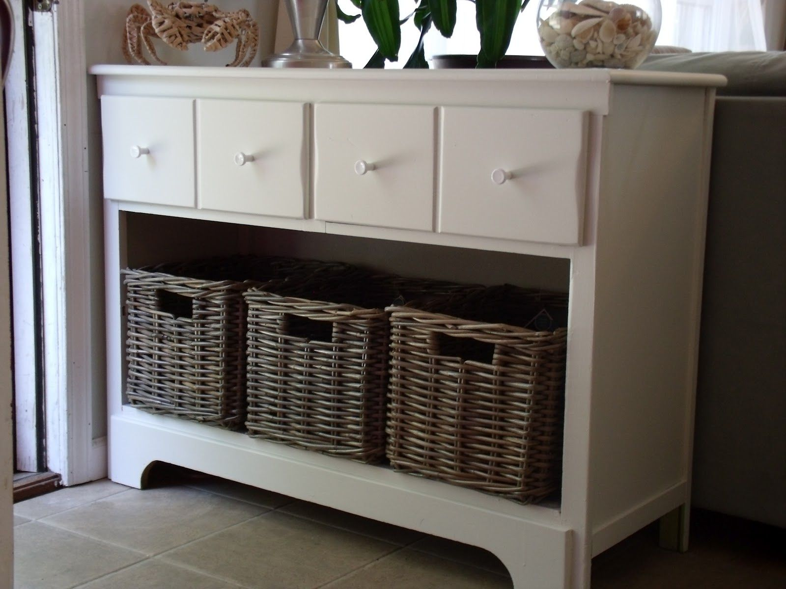 Exceptionnel Storage Entryway Cabinet