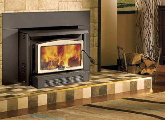 A Retrofit Kit Can Be Inserted Into A Decorative Hearth To Make A Functional Fireplace Wood Burning Insert Wood Burning Fireplace Inserts Fireplace Inserts