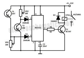 Remote Control Light Switch Circuit