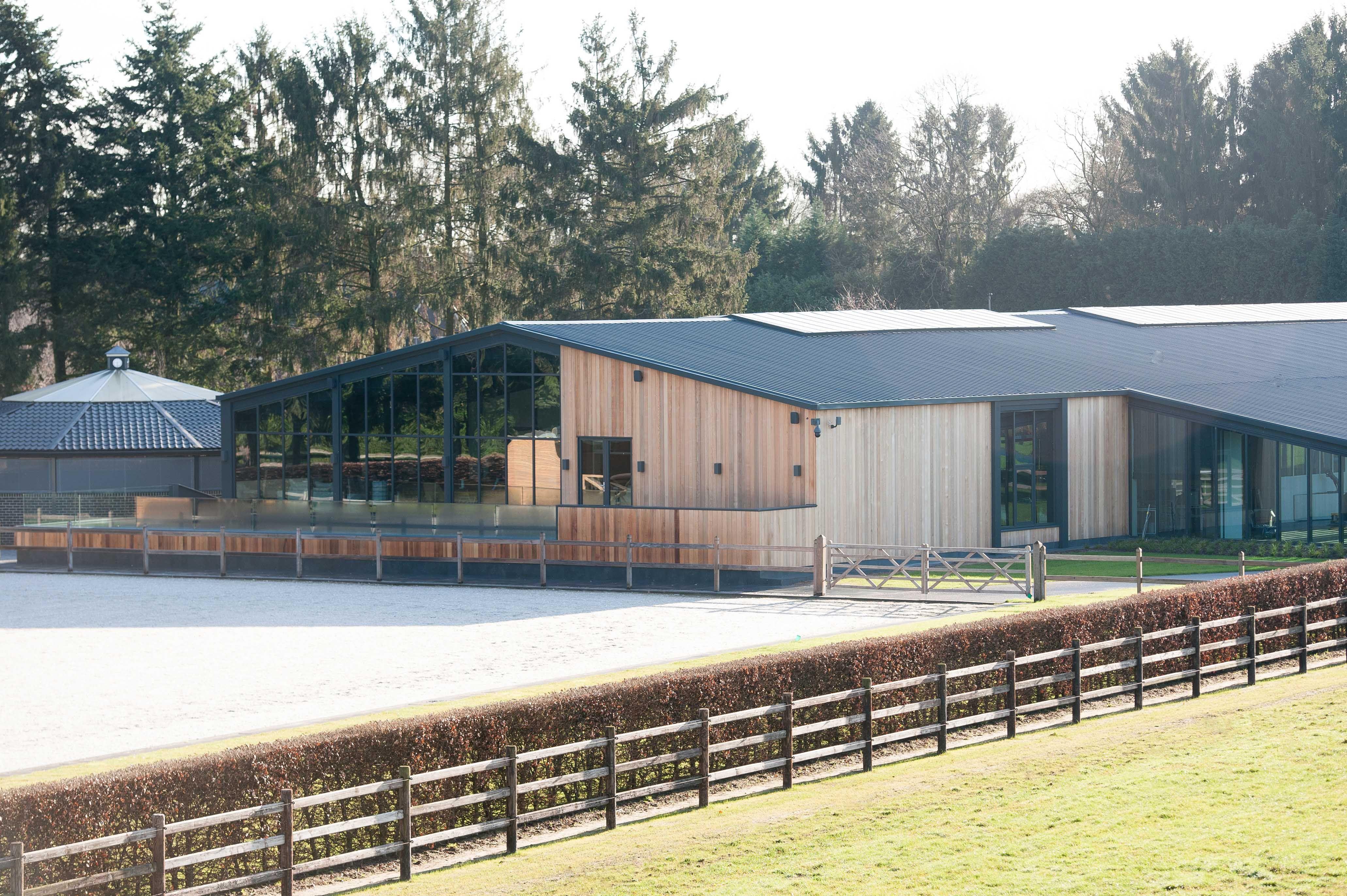 Stable Horses Equestrian Equestrianarchitecture Box Barn Architecture Riding