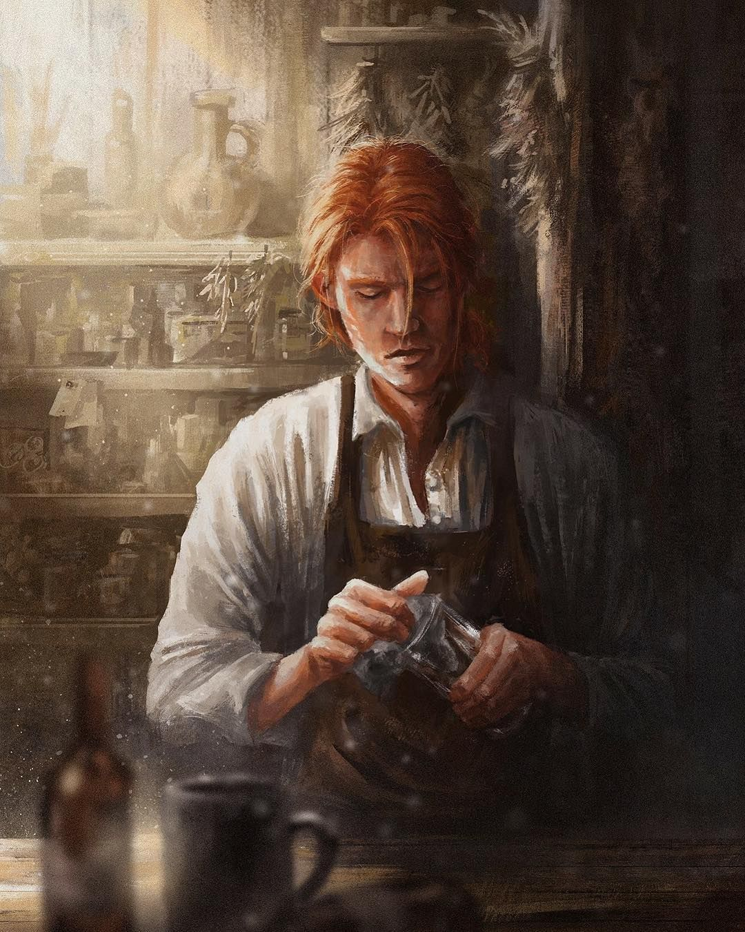 "Kingkiller Chronicle Fan Art on Instagram: ""Kvothe in the Waystone ..."