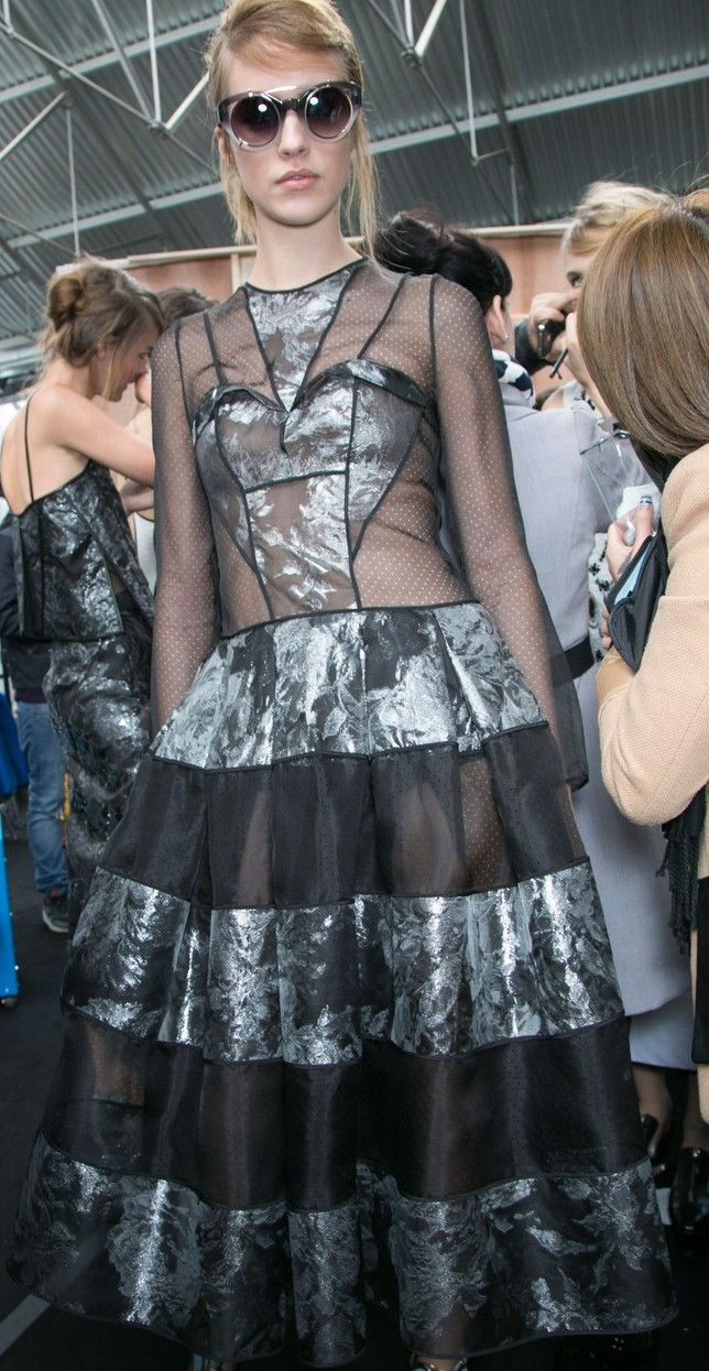 Erdem Ready To Wear Spring 2014 - Backstage
