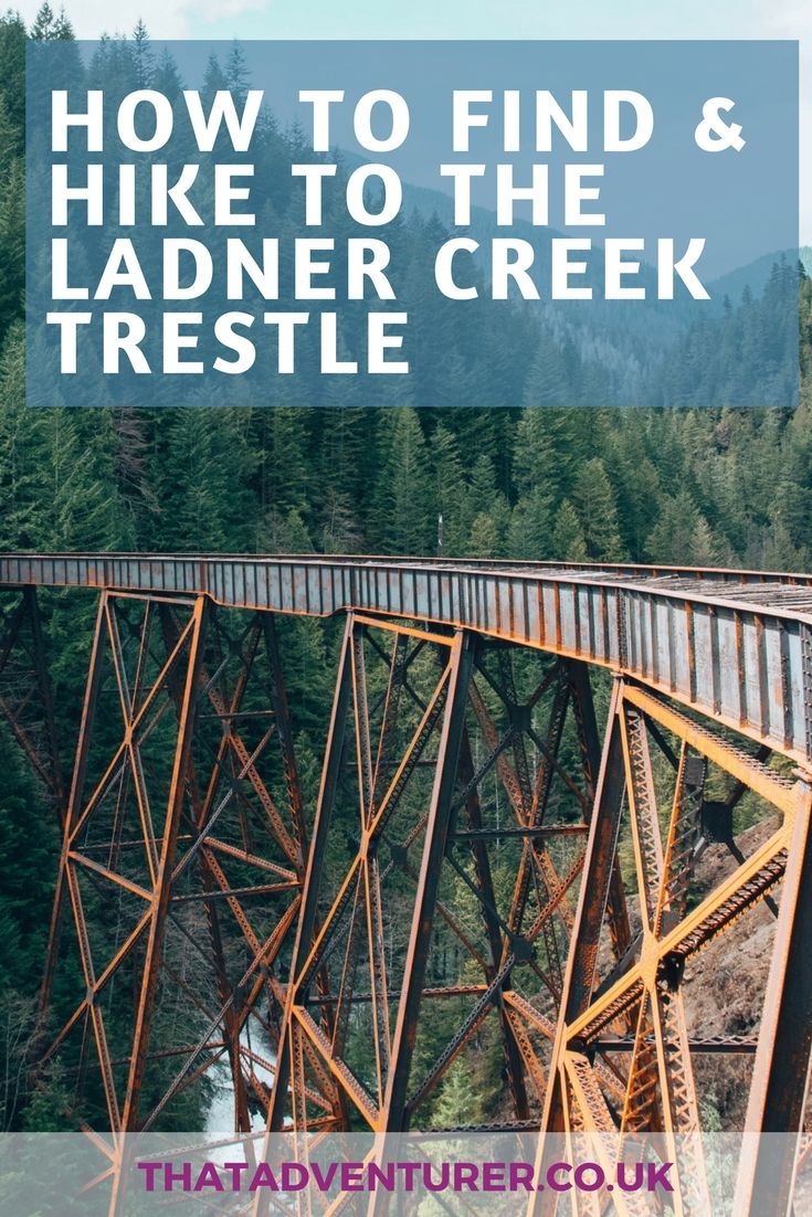 How to find Ladner Creek trestle near Hope in British Columbia, Canada