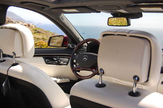 2012 Mercedes Benz S550 In Designo Mystic Red With Designo Deep