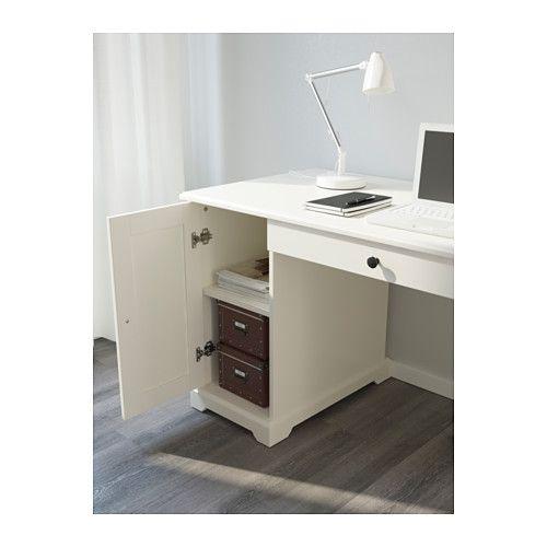 Schreibtisch weiß mit schubladen ikea  LIATORP Schreibtisch, weiß | Schreibtische, Ikea und Schlafzimmer
