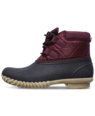 Skechers Women's Hampshire Boots from Finish Line - Red 11
