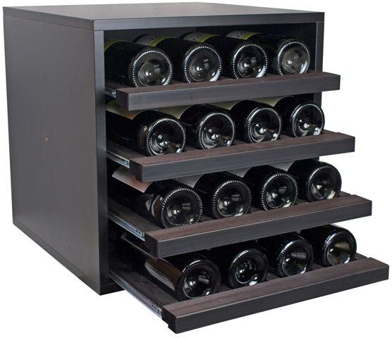 Botellero modular modelo merlot mini para 16 botellas - Botellero de madera para vino ...