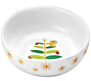 Rachael Ray Holiday Hoot 10 Serving Bowl