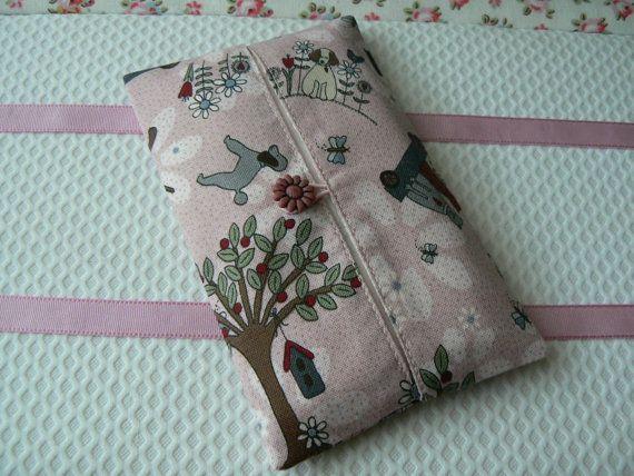 Etui à mouchoirs avec tissu japonais couleur par EmmaFlorenceParis