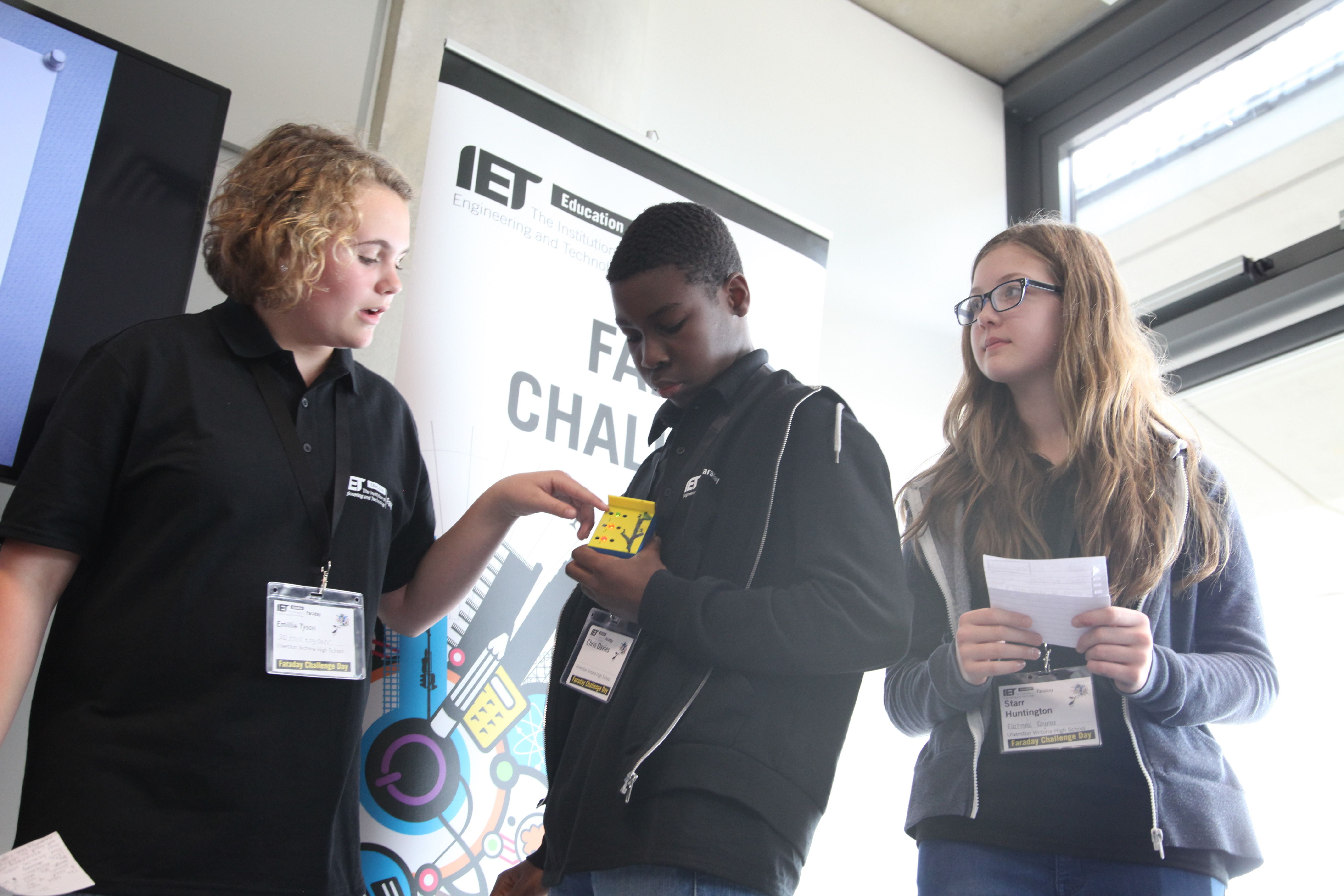 Presentation time for our teams. http://faraday.theiet.org/stem-activity-days/faraday-challenge-days/faraday_challenge_days_2014_15.cfm