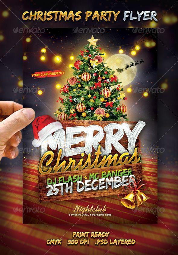 Merry Christmas Flyer Christmas flyer, Flyer design templates - free printable christmas flyers templates
