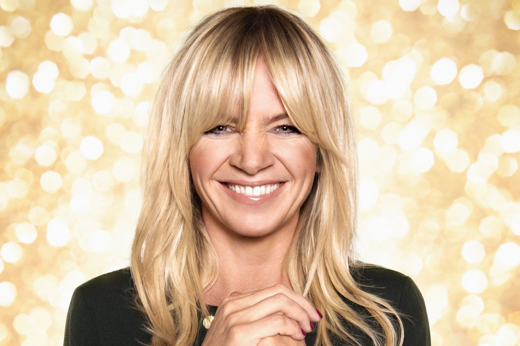 strictly come dancing: zoe ball replaces claudia winkleman on