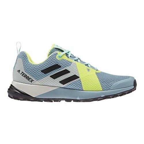 Women's adidas Terrex Two Trail Shoe - Ash Grey/Black/Hi-Res #hikingtrails