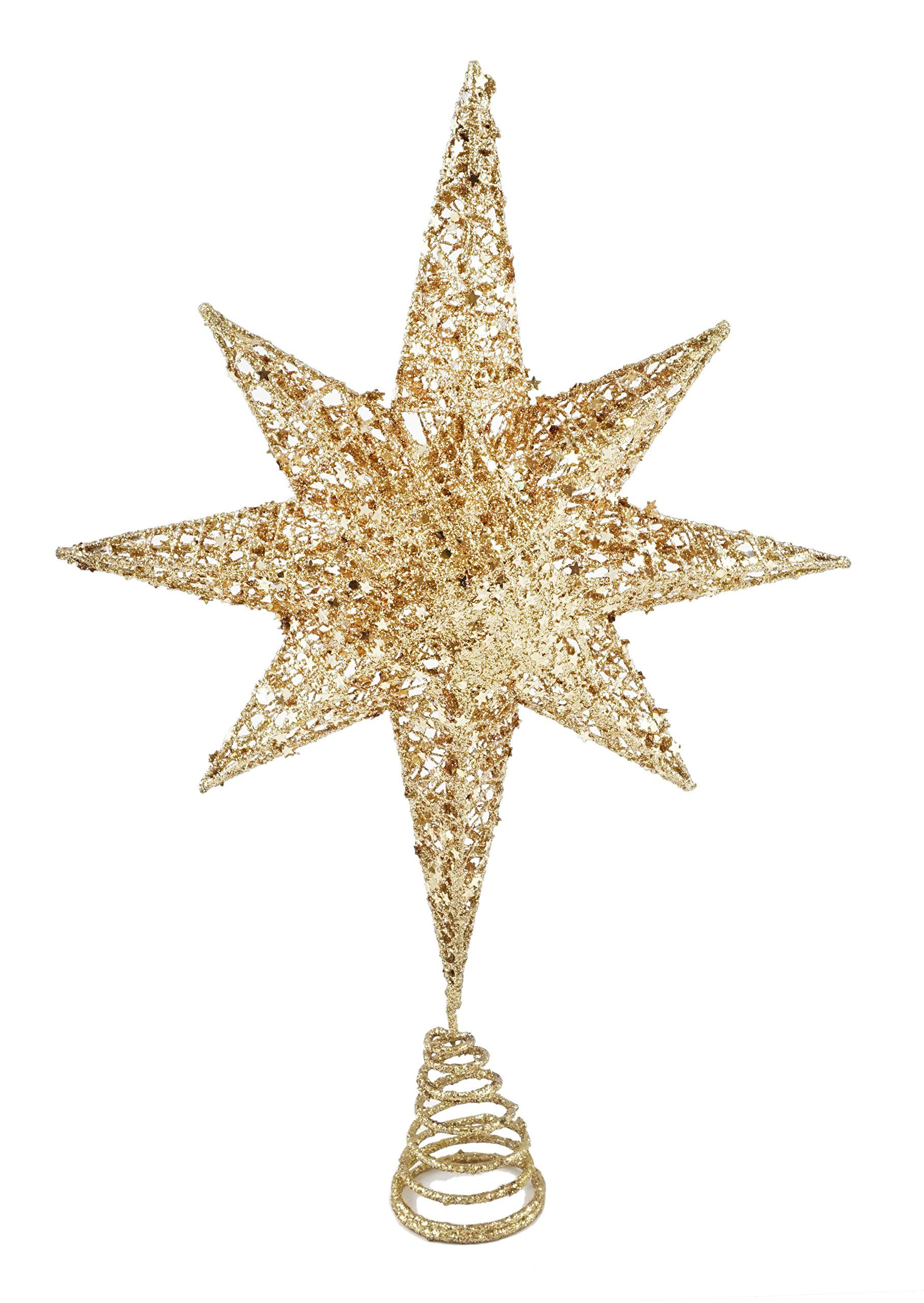 Starry Night North Star Christmas Tree Topper. One Christmas Tree ...