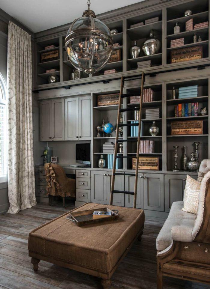 ▷ 1001 + Ideas de decoración con librerías para tu casa | Pinterest ...