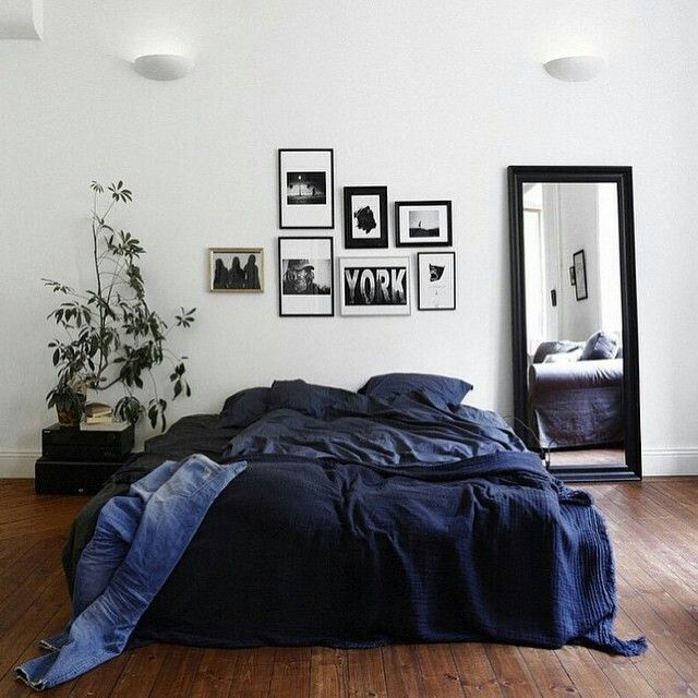 Wunderschönes Blaues Bett { Bedroom ideas } Pinterest Bett