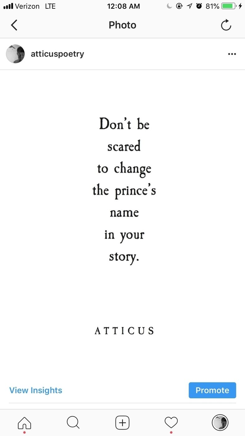 Princes This Is A Short Poem From My New Book The Dark Between Stars Available Now For Presale And Releases Sept 4th 2018 Xx Atticus