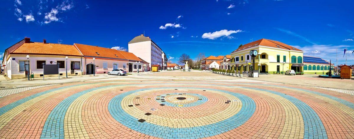 Ludbreg The Center Of The World Is In Croatia Croatia Beautiful Landscapes World