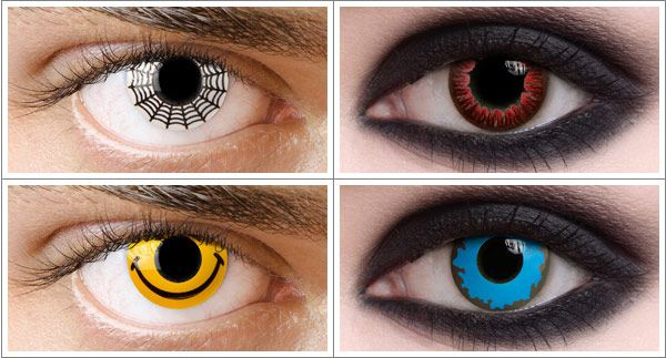 20 Off Halloween Contact Lenses Free Shipping