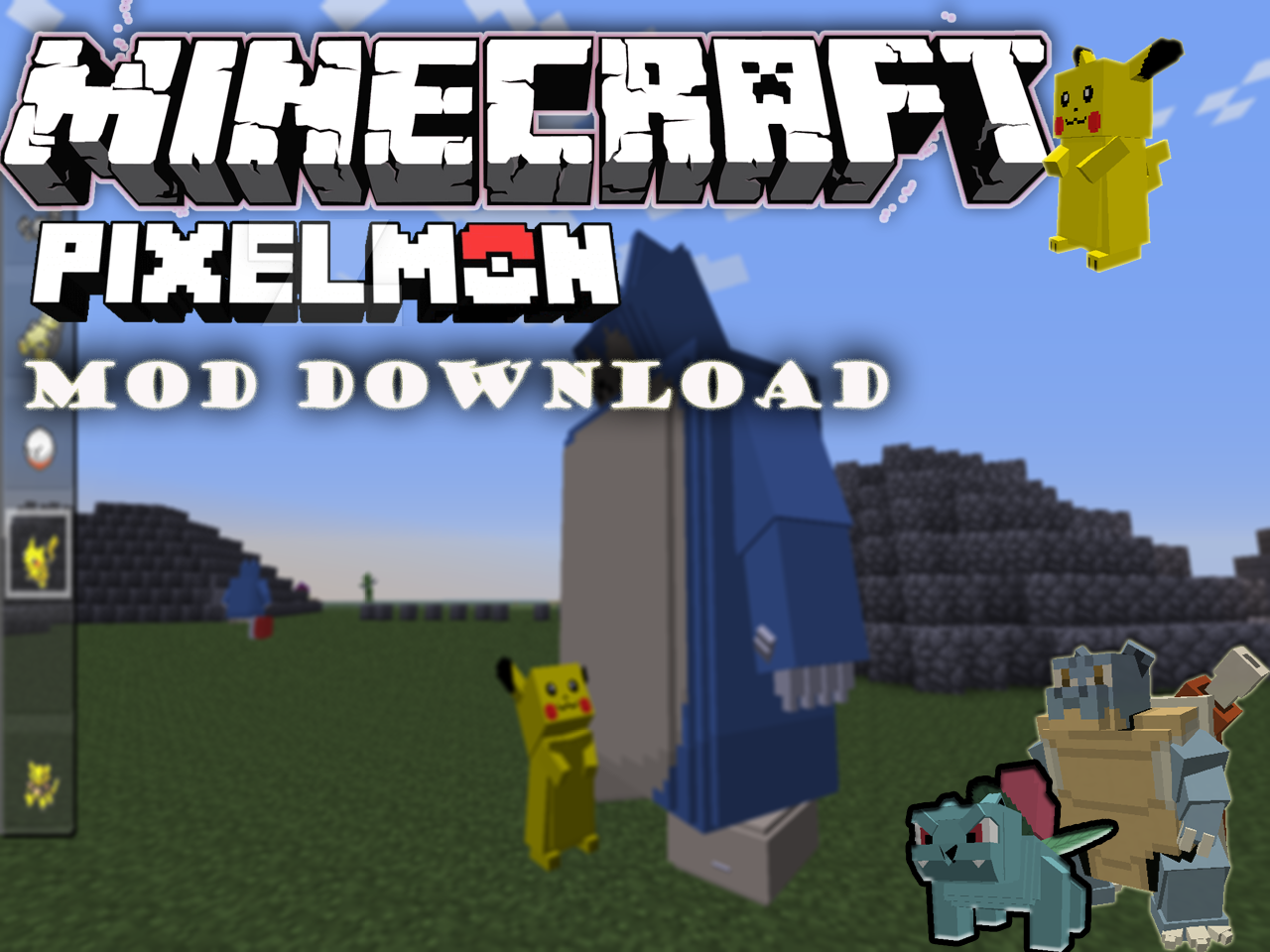 Pixelmon Mod for Minecraft Download & Install the latest