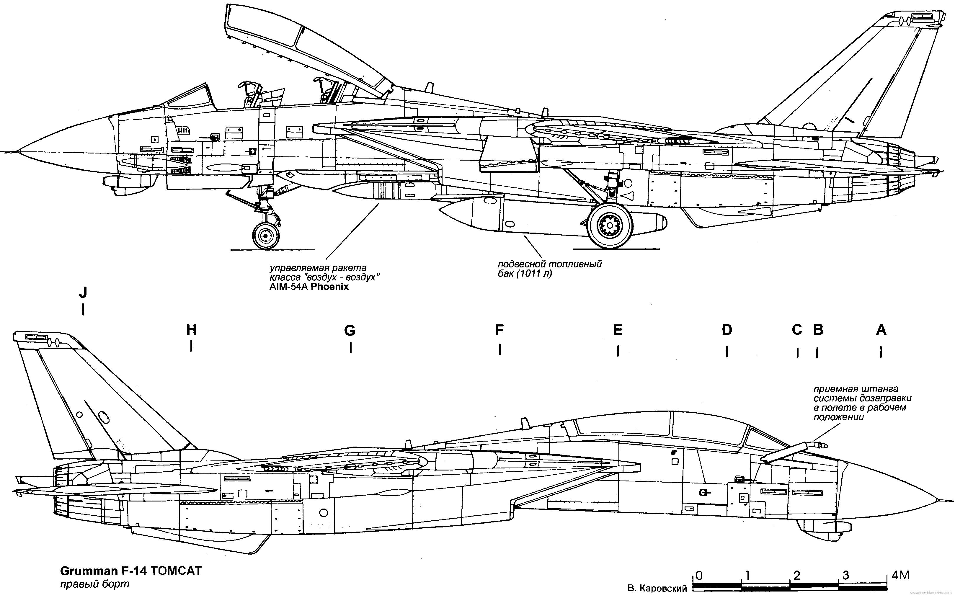 F14 Blueprints