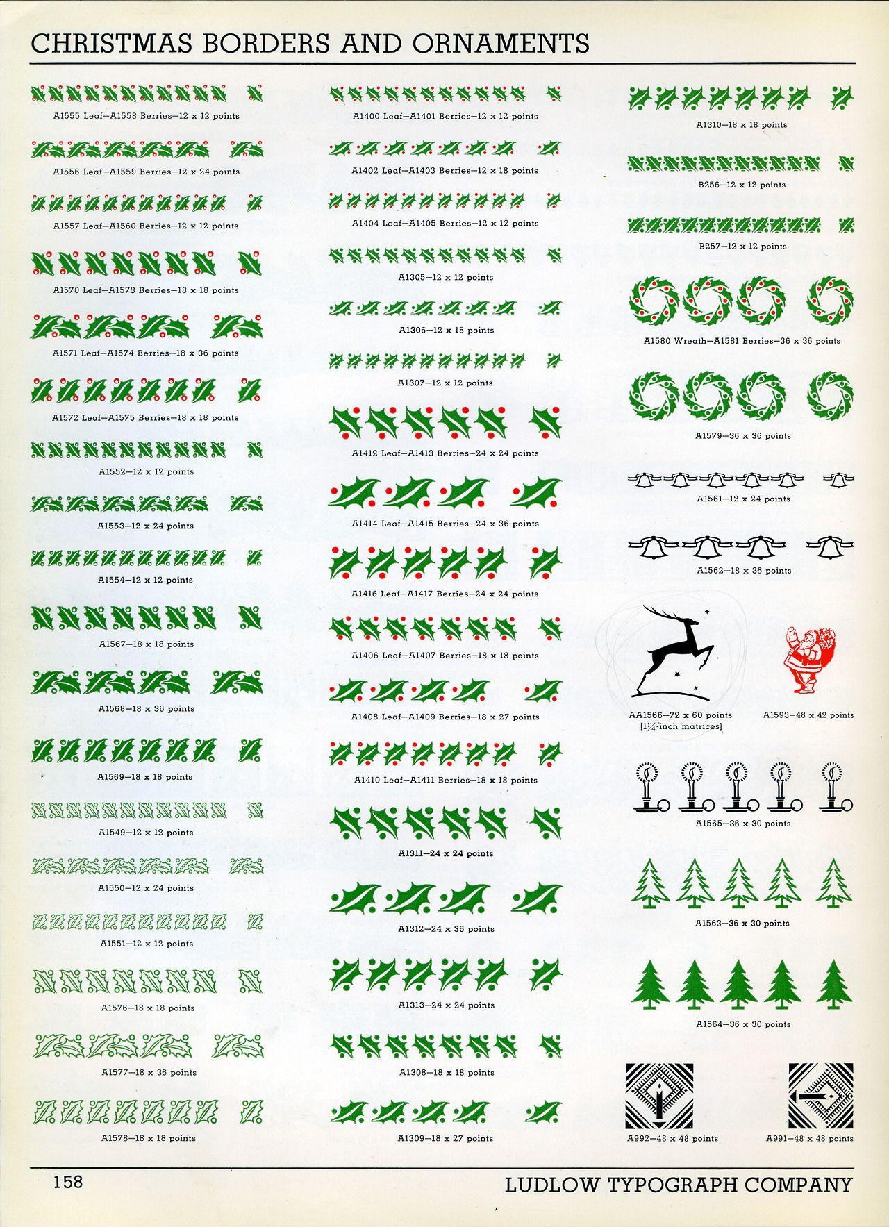 Ludlow Christmas Ornaments Font