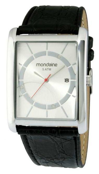 150fe6b66f1 60393G0MBNR1 Relógio Masculino Pulseira de Couro Mondaine