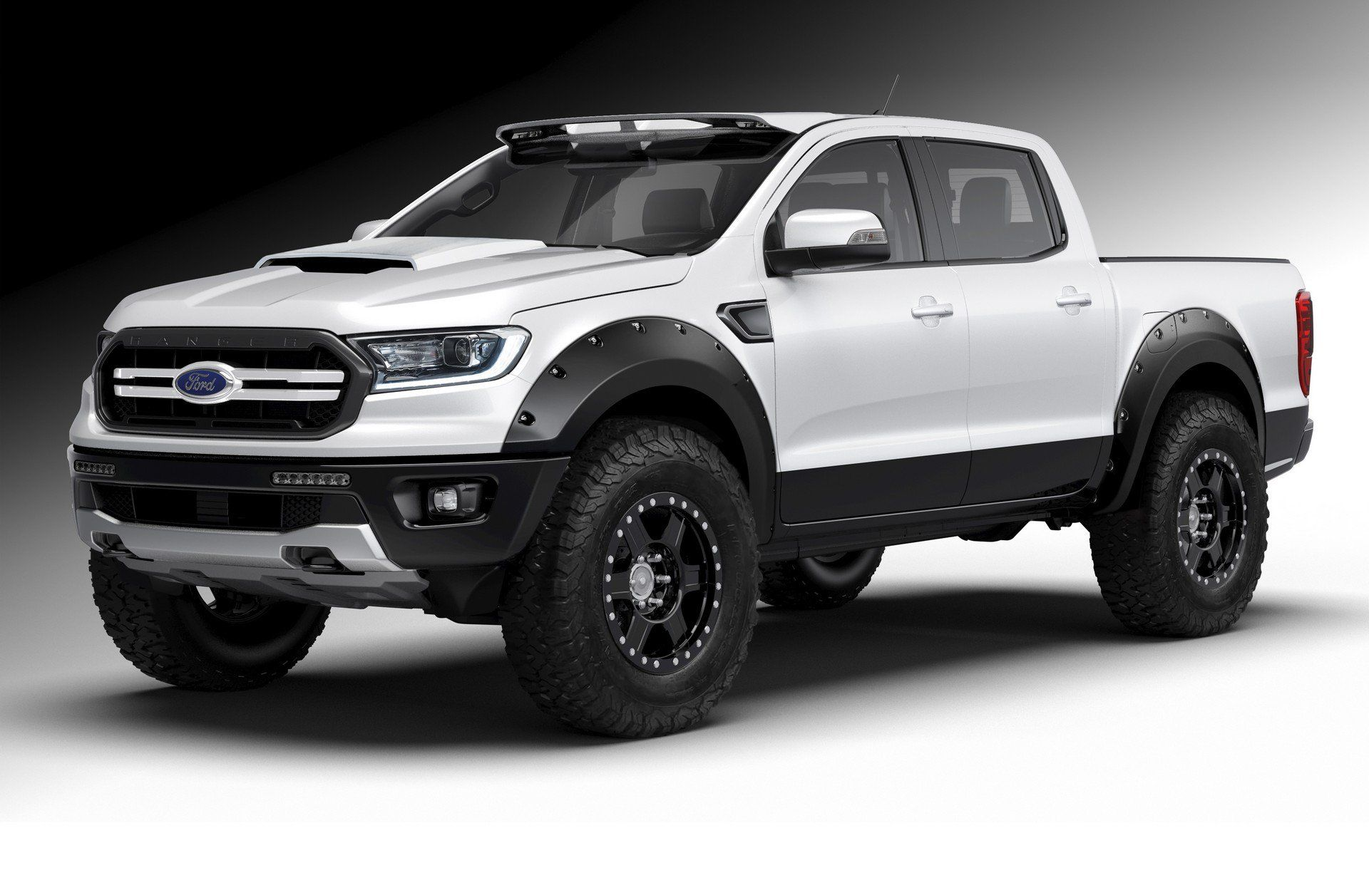 2019 Ford Ranger Lands At Sema Ahead Of Next Year S Launch En